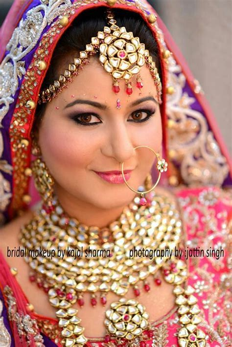 by indian indain bridal makeover by kajal sharma indian bridal