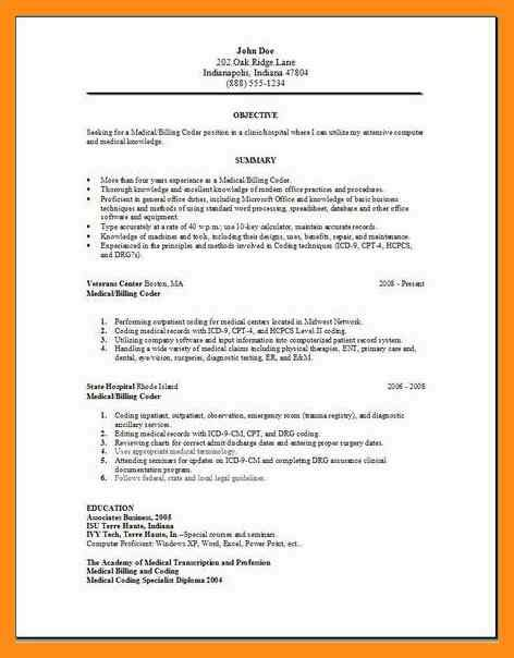 billing and coding resume objective exles coder resume objective memo exle
