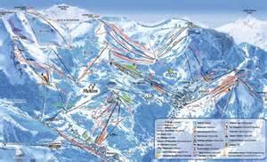ski portes du soleil plans des pistes domaine skiable
