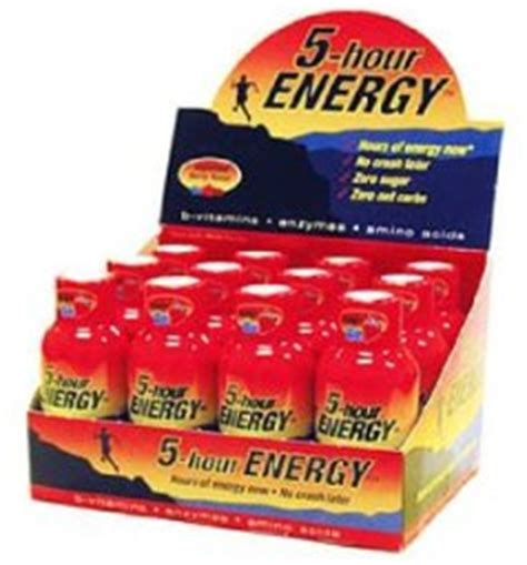 energy drink 5 hours side effect 5 hour energy review and side effects does it work
