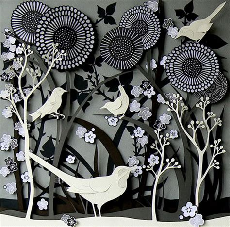 Paper Cutting Craft - creative sketchbook helen musselwhite s multi layered 3d