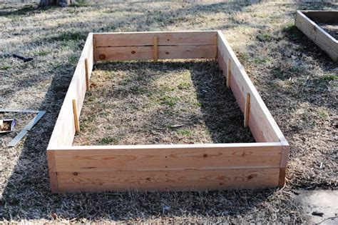 build your own raised flower vegetable bed pioneer woman home garden ree drummond