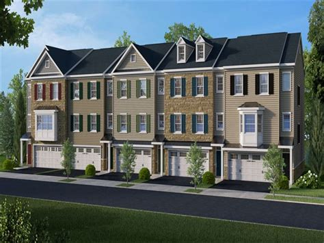 larchmont townhome floor plan in feasterville trevose pa