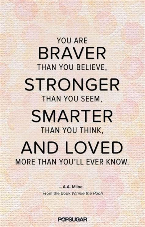 your brain knows more than you think books you are braver than you believe stronger than you seem