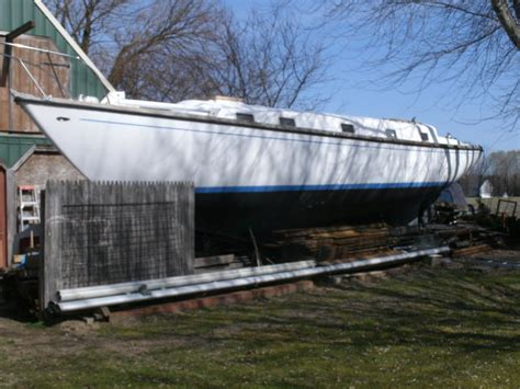 sailboats new jersey 1972 morgan 40 shoal draft ketch documented sailboat for