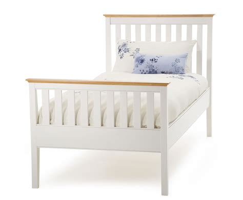 small double headboard white christine 4ft small double high footend white bed frame