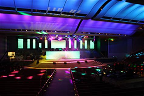 Potters House Frisco by Sound Bridge Line Array Systems