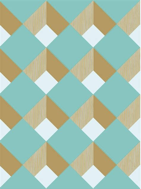 paper pattern geometric shapes aqua diamond tiles patterns pinterest