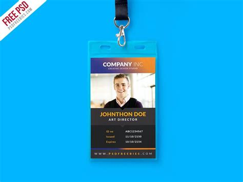 Officer Id Card Templates by Id Card Template Office Id Card Template Ms Word Id Card