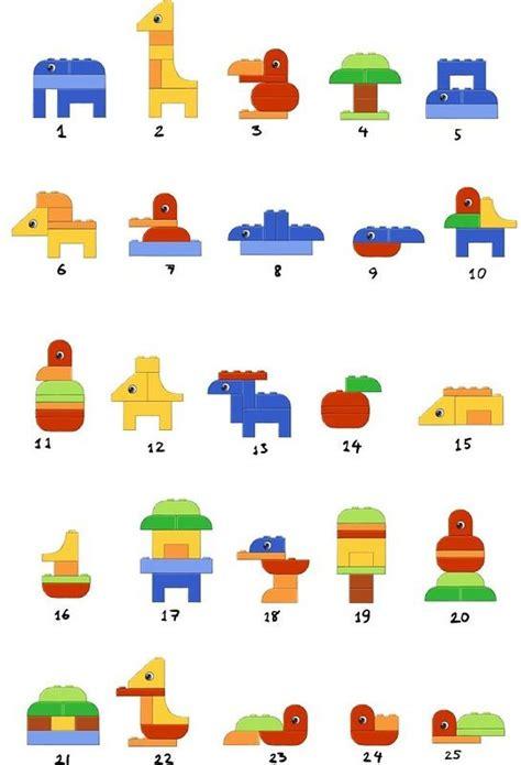 printable lego animal instructions simple lego duplo animals lego ideas pinterest lego