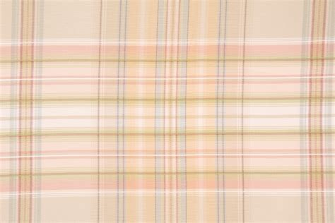 pastel upholstery fabric 4 3 yards woven plaid upholstery fabric in pastel