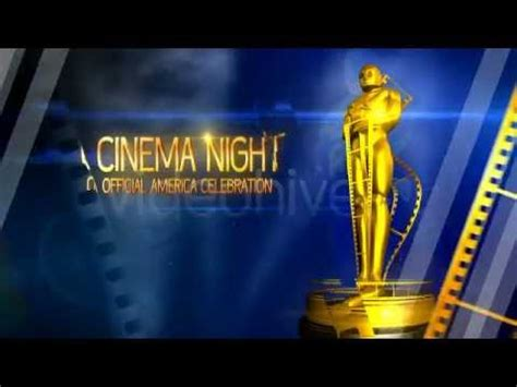 Cinema Oscar Awards After Effects Template Youtube After Effects Awards Template
