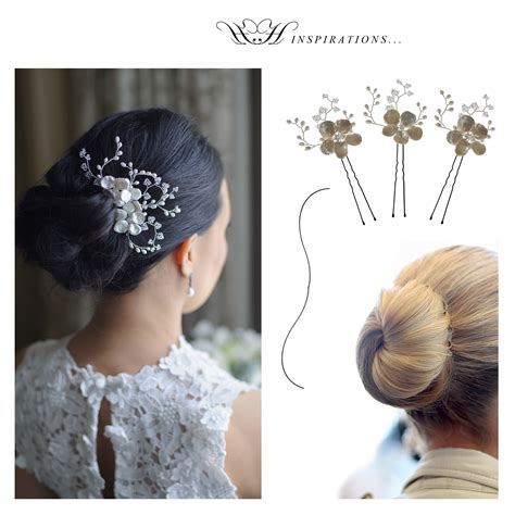 Hairstyles Accessories Bun Accessories by Hermione Harbutt Hairstyle Inspirations Floral Bun