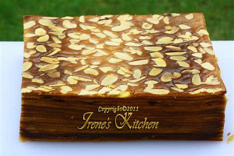 Lapis Legit Polos Premium 1 Loyang Irene S Kitchen Menu Cake Irene S Kitchen