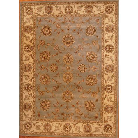 Indo Hand Tufted Mahal Rug 8 X 11 Herat Oriental Rugs Indo Rugs