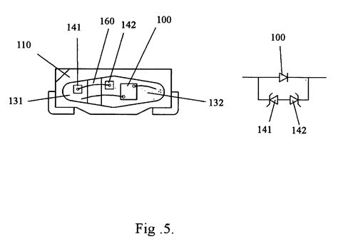 testing protection diodes patent us20060055012 led package with zener diode protection circuit patents