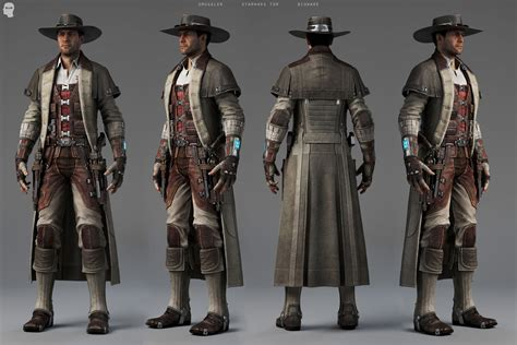 star wars the old republic smuggler gunslinger gorgeous 3d art from old republic arkham city resident evil