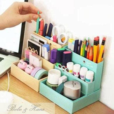 desk organization diy decorate your desk 183 diy desk organizer