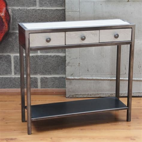 console metal meuble console table console design