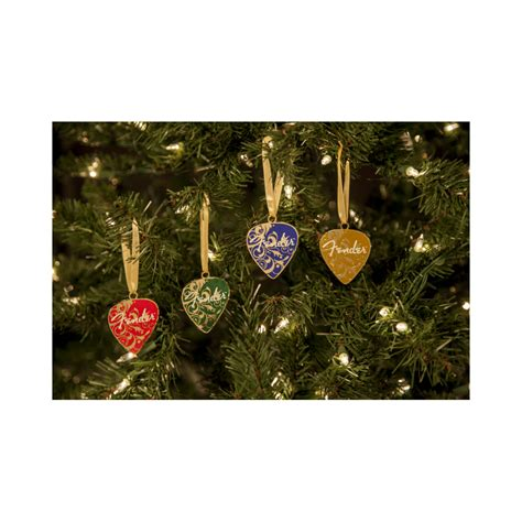 decorative ornaments for the home uk fender official christmas tree decor guitar picks ornament