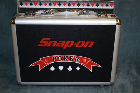Snap On Gift Card - snap on poker chips and cards set new like new buya
