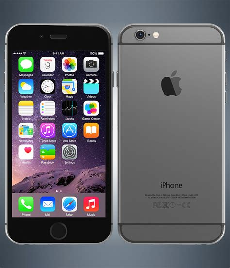 Apple Iphone 6 Plus 128gb Space Gray apple iphone 6 space grey 128 gb kaicell