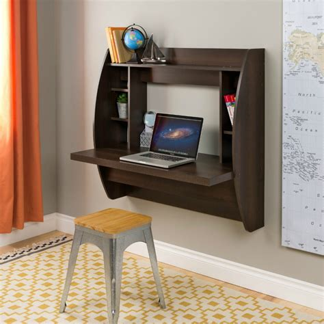 best wall mounted desk designs for small homes