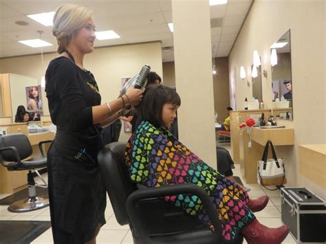 children hair salon in dallas the salon by instyle gets new dos for kids and adults