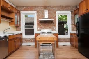 Brick Kitchen Designs 47 Brick Kitchen Design Ideas Tile Backsplash Accent Walls Designing Idea