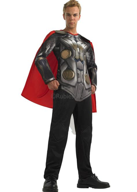 movie quality thor costume adult deluxe thor fancy dress costume ebay