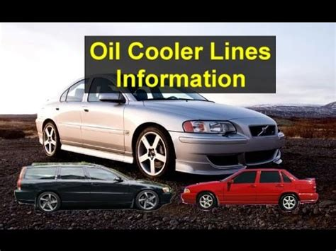 oil cooler lines location replacement information volvo   turbo cars  newer