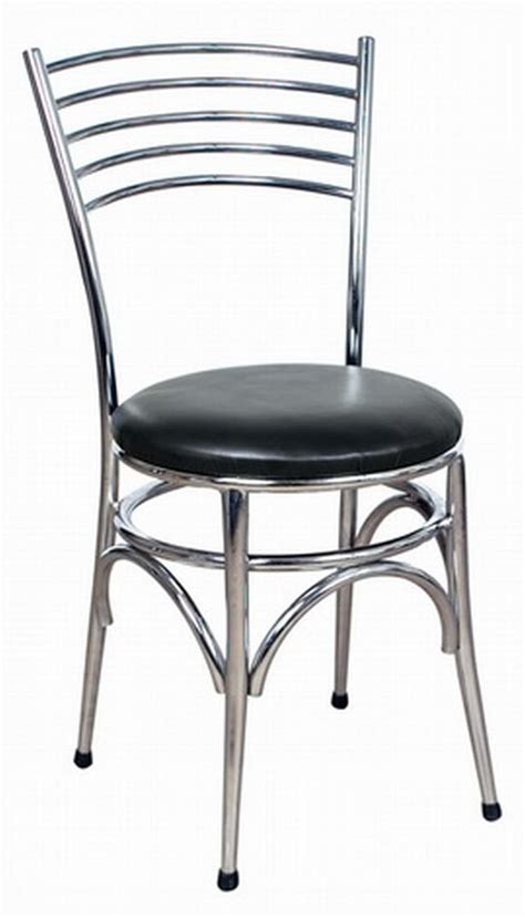 Chrome Bistro Chairs Napoli Chrome Side Chair Dining Chairs By Trent Furniture