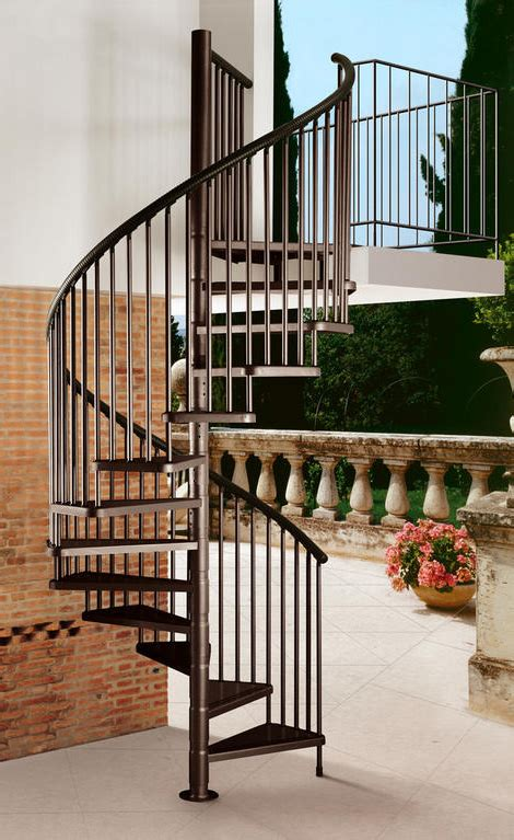 staircase on spiral staircases outdoor and decks