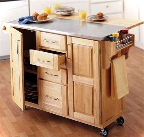 small kitchen carts and islands 10 multifunctional kitchen island ideas small house decor