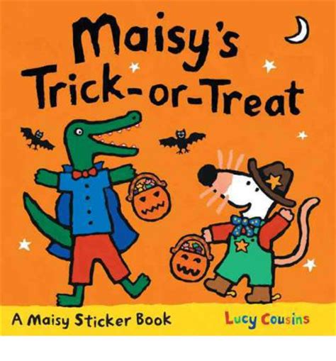 maisy s trick or treat sticker book cousins 9780763659059