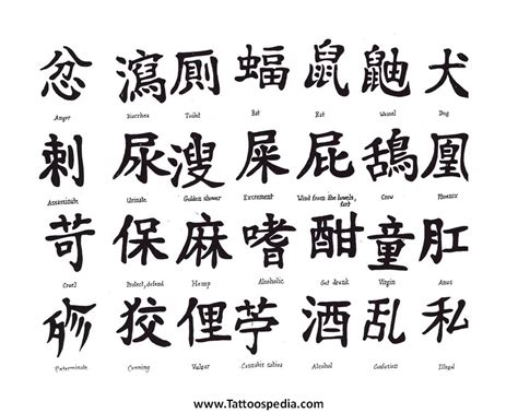 tattoo lettering chinese tattoos lettering chinese 1