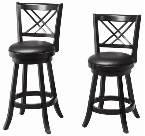 Upholstered Breakfast Bar Stools Buy Dining Chairs And Bar Stools 24 Quot Swivel Bar Stool With