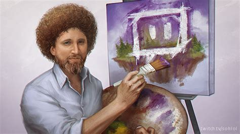 bob ross painting meme kappaross bob ross your meme
