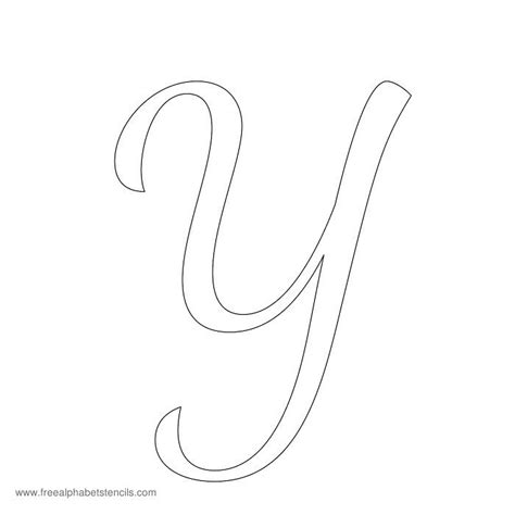 cursive alphabet template 1950s casual cursive alphabet stencils