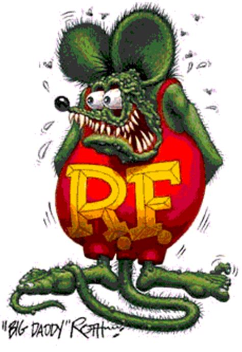 Rat Fink Art   Get to Know Ed Roth and His Rat Fink Art