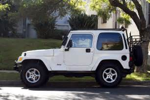 White Jeep With Top For Sale Jeep Tj White Hardtop Jeep Wrangler
