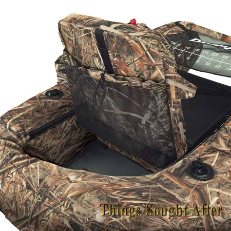 duck hunting inflatable boat marshland max 5 camo float tube inflatable pontoon belly
