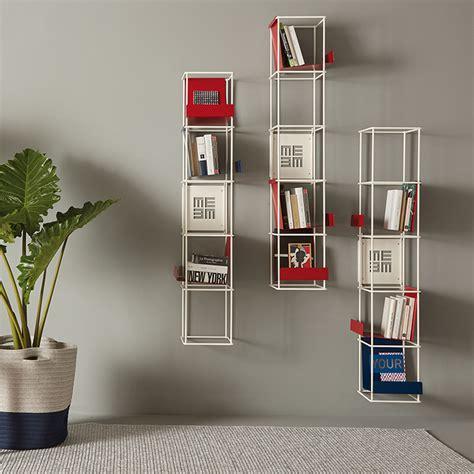 bookshelf libro verticale bookcase libro verticale memedesign modular wall bookcase
