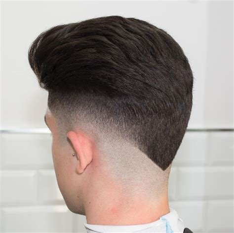 men u0027s haircut taper vs fade hairs picture gallery