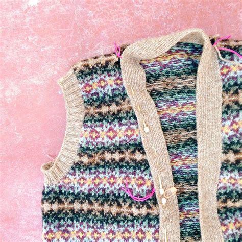 bett freistehend fair isle vest knitting patterns 139 best images about
