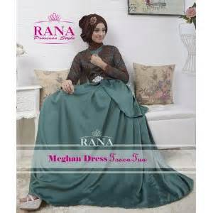 Maxi Rana 3in1 Maxi Dress Premium Gamis Premium Pashmina meghan fashion butiq