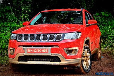 jeep india compass live jeep compass launched in india at inr 14 95 lakh ex
