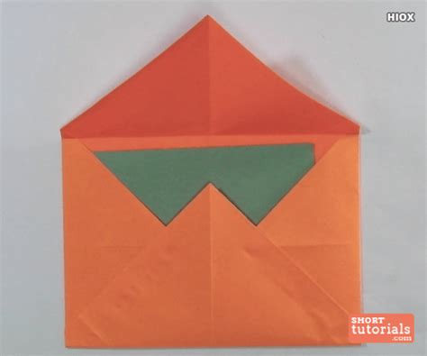 How To Make An Origami Envelope - step by step origami envelope comot