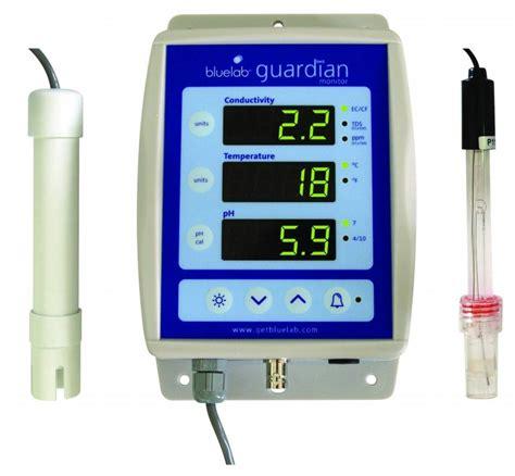 Ec Meter Bluelab Guardian Ec Ph Monitor Ph Ec Meters