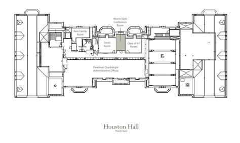 meeting room floor plan perelman quadrangle at the university of pennsylvania